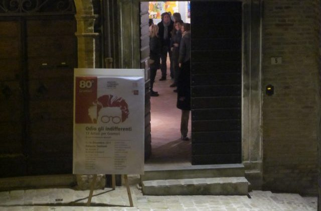 La mostra dedicata ad Antonio Gramsci a Palazzo Santoni