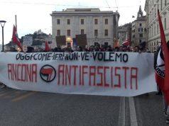 Manifestazione Rete antifascista Ancona