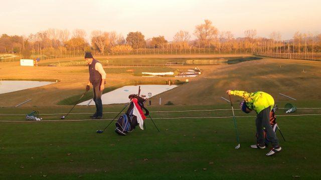 Il nuovo campo da golf di Chiaravalle