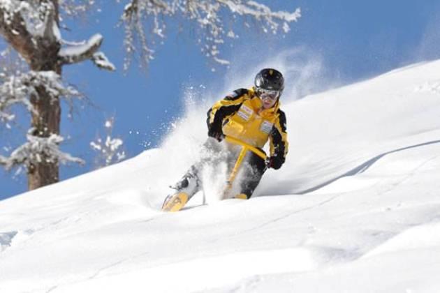 La disciplina dello Snowbike, sbarcata anche in Italia