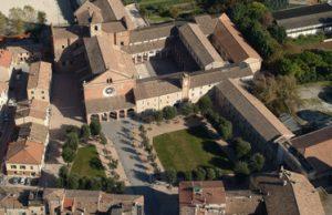 Una immagine aerea di Chiaravalle