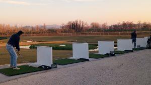 Uno scorcio del campo da golf Olinuan di Chiaravalle