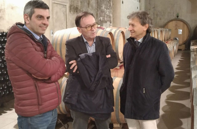 Doriano Marchetti (al centro) presidente Moncaro