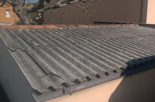 case e rimesse con tetto in amianto