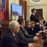 Il discorso del sindaco di Senigallia e la Giunta comunale
