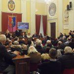 L'aula consiliare di Senigallia piena per il discorso di fine anno del sindaco