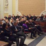 Rappresentanti politici e delle forze dell'ordine al discorso di fine anno a Senigallia