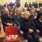 La senatrice Amati e la sedia vuota in omaggio a Patrizia Casagrande