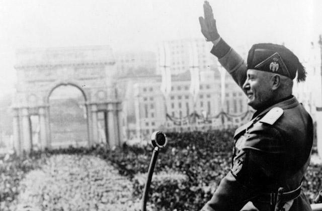 fascismo, duce Mussolini