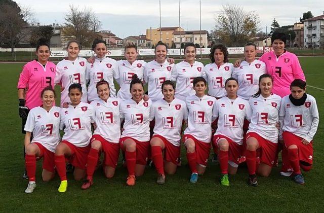 La formazione della Jesina Calcio femminile