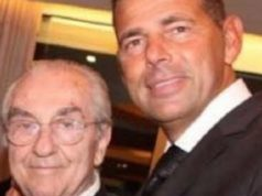 Il primo cittadino Maurizio Mangialardi con lo chef Gualtiero Marchesi