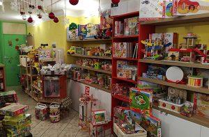 Peter Pan, il negozio di giochi a Senigallia