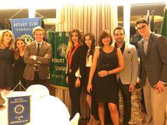 Il gruppo del Rotaract di Senigallia