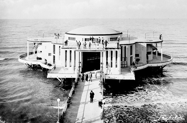 La Rotonda a Mare. Senigallia, fine anni '40. Archivio Storico Fotografico Leopoldi