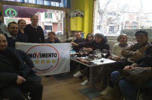 Tra le iniziative, un appuntamento fisso settimanle per incontrare i cittadini nella sede di via Garibaldi