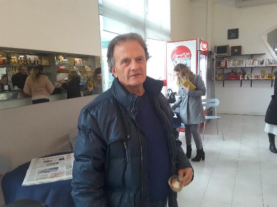 Franco Possanzini che ha praticato il massaggio cardiaco