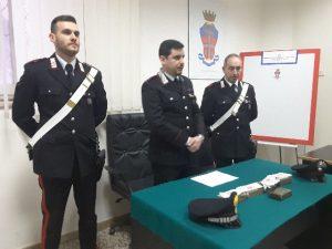 Al centro il tenente Maurizio Dino Guida