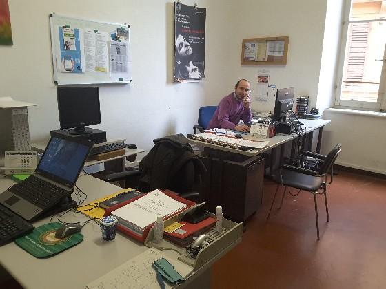 Simone Brunori dello staff Whatsapp del comune di Jesi