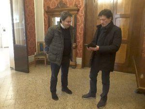 Andrea Pieralisi e Luciano Montesi