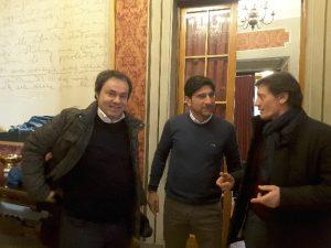 Andrea Pieralisi, Ugo Coltorti, Luciano Montesi