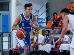 Alessandro Fanesi, play dell'Under 20 della Basket School Fabriano e nel roster anche in serie B con la Ristopro (foto di Martina Lippera)