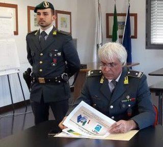 l comandante provinciale della Guardia di Finanza, Gen. B. Vincenzo Amendola