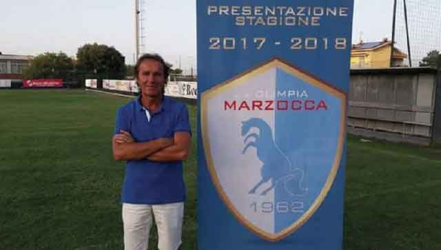 Dino Giuliani allenatore del Marzocca calcio