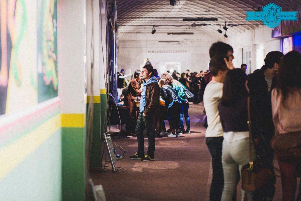 Uno degli eventi organizzati alla Fornace dallo staff di Porto Bello. foto di Francesco Marini