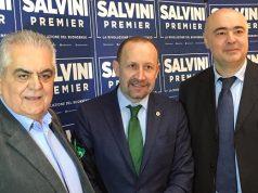 Nella foto, da sinistra: Sandro Zaffiri, Paolo Arrigoni e Giuliano Pazzaglini