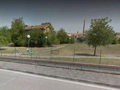 L'ex Crt nel parco del Verziere
