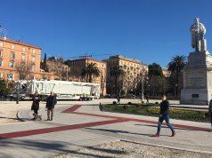 Smontata la ruota in piazza Cavour