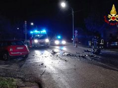 Incidente stradale a Sant'Angelo di Senigallia