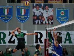 Il Loreto vittorioso 3-0 sul Fano nell'ultimo match (foto Gulli)