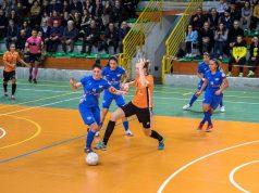 uciani in azione nell'ultimo match con il Kick Off (Foto Diaframma)