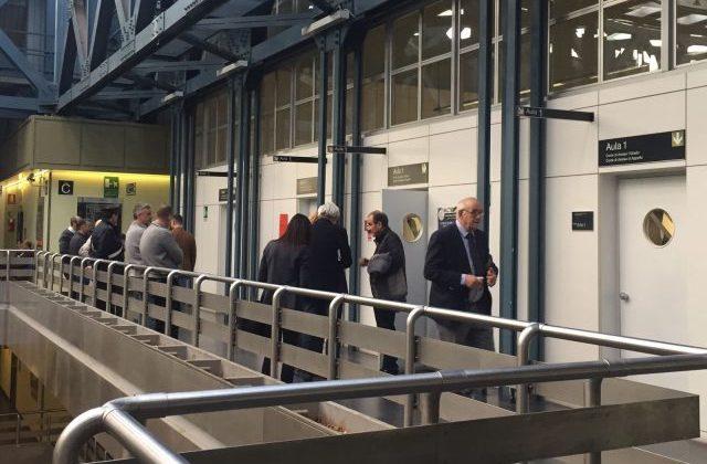 Avvocati e risparmiatori in tribunale per l'udienza davanti al gup