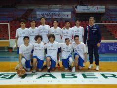 La squadra Under 15 d'Eccellenza della Basket School Fabriano allenata da coach Massimo Cerini