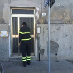 L'arrivo dei pompieri