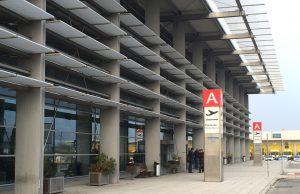 L'aeroporto di Falconara