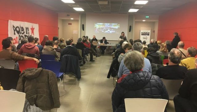 L'assemblea di Potere al Popolo in Ancona