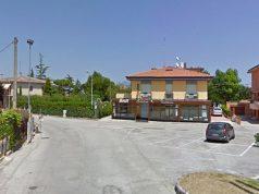 L'incrocio tra via Antonelli e via Garibaldi a Brugnetto di Trecastelli