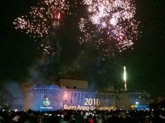 Il capodanno 2018 festeggiato a Senigallia con i fuochi d'artificio