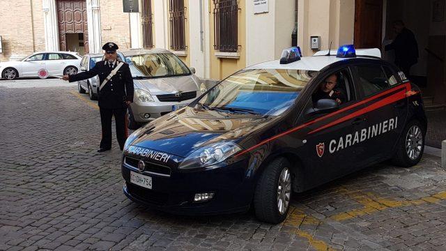 La caserma dei Carabinieri di via Marchetti a Senigallia