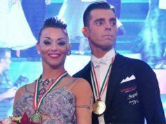 Cinzia Birarelli e Isaia Berardi campioni italiani assoluti professionisti 2018 nella categoria danze standard