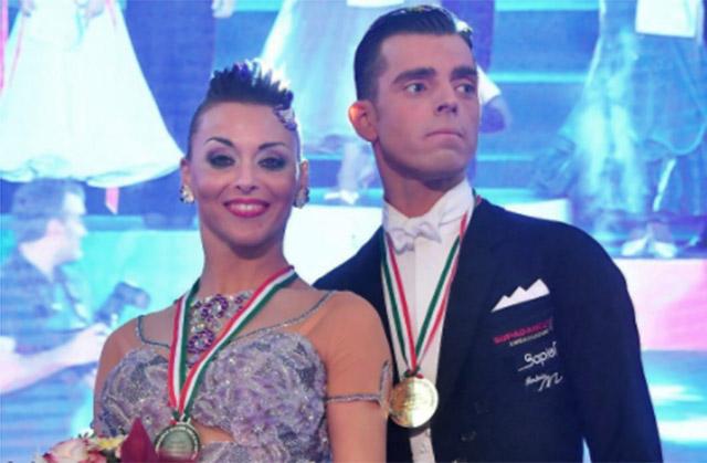 Un'atleta di Ostra sul gradino più alto ai campionati italiani di danza sportiva: è Cinzia Birarelli