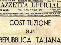 La pubblicazione sulla Gazzetta Ufficiale della Costituzione Italiana (27 dicembre 1947)