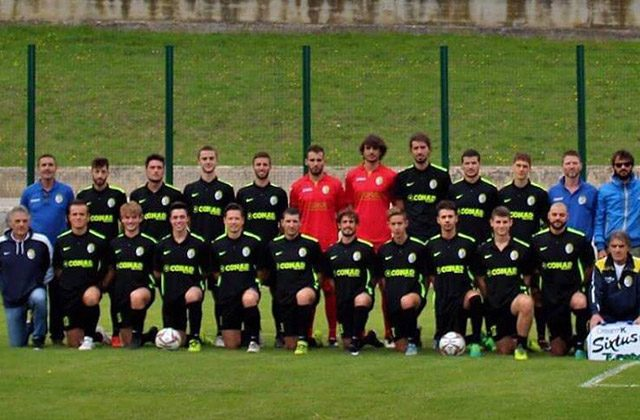La squadra di calcio dell'Ilario Lorenzini di Barbara 2017/18