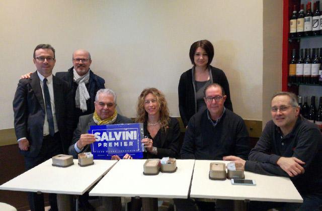 La senatrice Erika Stefani a Senigallia con i rappresentanti locali della Lega Nord