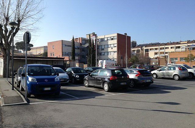 I parcheggi in zona campo Boario