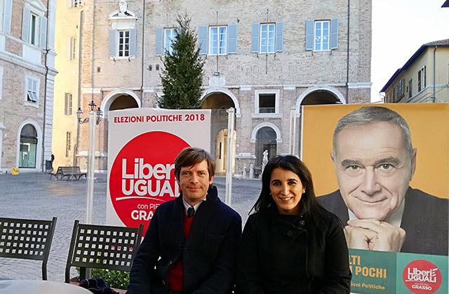Pippo Civati e Beatrice Brignone con la lista Liberi e Uguali