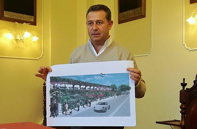 Maurizio Memé presenta il progetto per i nuovi parcheggi in via Cellini